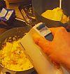 Bild vom Zubereiten der Puddingcreme