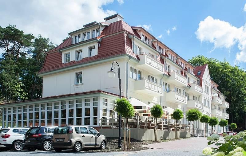 Residenz Kaisers Garten In Swinemünde An Der Polnischen Ostsee Kur
