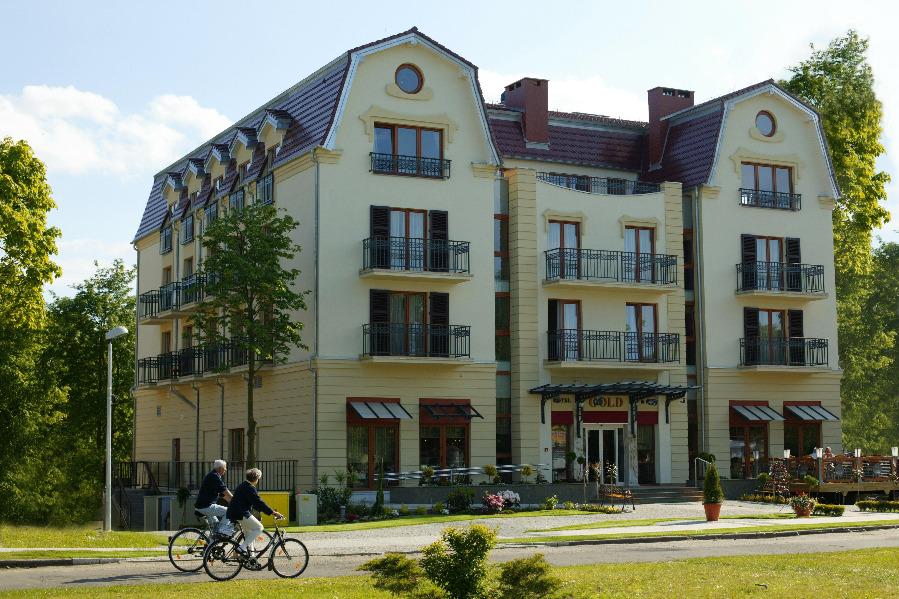 hotel gold in swinem nde swinoujscie kur in polen reiseagentur sch nes polen. Black Bedroom Furniture Sets. Home Design Ideas